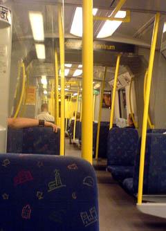 Tunnelbana.